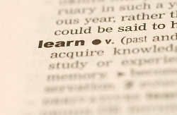 dictionary definition of learn