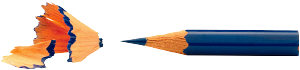 pencil sharpened to a fine point